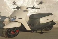 新本牌XB50QT-5型两轮轻便摩托车图片