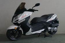 建设牌JS150T-2型两轮摩托车
