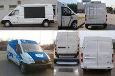 大通牌SH5041XDWA7BEV型纯电动流动服务车图片4
