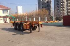 华昌牌QDJ9406TWY型危险品罐箱骨架运输半挂车