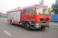 中卓时代牌ZXF5170GXFPM60型泡沫消防车