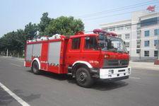 中卓时代牌ZXF5150GXFSG50/D型水罐消防车