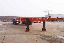 正康宏泰牌HHT9342TJZ型骨架式集装箱运输半挂车图片