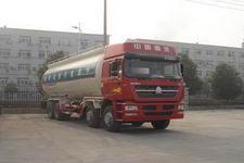 重汽前四后八干混砂浆运输车散装水泥车多少钱