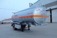 正康宏泰6.9米14.5吨1轴运油半挂车(HHT9180GYY)