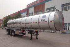 明航牌ZPS9401GSY型铝合金食用油运输半挂车图片