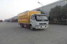 SGZ5118XRQDFA4型华威驰乐牌易燃气体厢式运输车图片