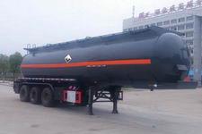 楚飛11米31.8噸3軸腐蝕性物品罐式運輸半掛車(CLQ9404GFWB)