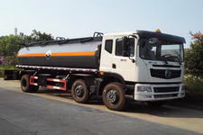 (14吨)东风153小三轴腐蚀性液体运输车