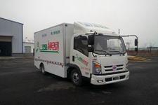 程力威牌CLW5071XXYBEV型纯电动厢式运输车