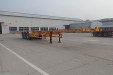 新宏东15米33.4吨3轴集装箱运输半挂车(LHD9400TJZE)