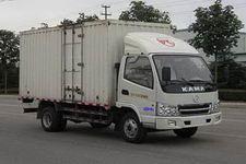 凯马国四单桥厢式运输车87-95马力5吨以下(KMC5042XXY33D4)