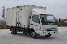 凯马国四单桥厢式运输车107-122马力5吨以下(KMC5046XXY33D4)