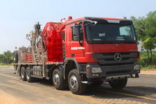 杰瑞牌JR5350TLG型连续油管作业车