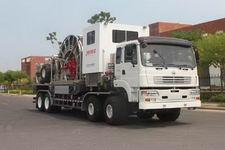 杰瑞牌JR5542TLG型连续油管作业车