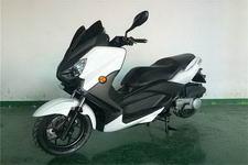 三友牌SY150T-10A型两轮摩托车图片