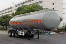 AKL9409GFW型开乐牌腐蚀性物品罐式运输半挂车图片