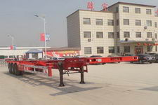 郓宇15米33.7吨3轴集装箱运输半挂车(YJY9401TJZE)