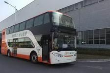 南车时代牌TEG6111EHEV01型混合动力双层城市客车图片