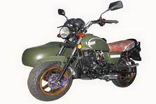 宝雕牌BD150B型边三轮摩托车图片