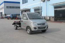 CLW5031ZXXBEV型程力威牌纯电动车厢可卸式垃圾车图片