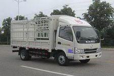 凯马国四单桥仓栅式运输车87-95马力5吨以下(KMC5042CCY33D4)