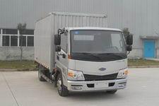 开瑞绿卡国四单桥厢式运输车118-131马力5吨以下(SQR5041XXYH02D)