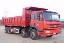 一汽凌河前四后八平头柴油自卸车国四301马力(CAL3310P1T4E4)