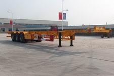 路飞15米33.4吨3轴集装箱运输半挂车(YFZ9406TJZ)