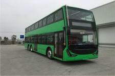 广通客车牌SQ6131BEVST3型纯电动双层城市客车图片