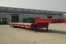 诚信达15米30吨6轴低平板半挂车(MWH9400TDP)