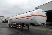 明欣牌NMX9400GDYG型低温液体运输半挂车图片