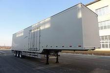 路斯牌MBS9401XXYLH型铝合金厢式运输半挂车图片