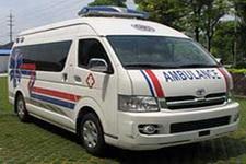 八达牌XB5037XJH4型救护车图片