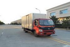 福田欧马可国四单桥厢式运输车143马力5吨以下(BJ5049V8BEA-FA)