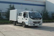 福田奥铃国四微型厢式运输车110-118马力5吨以下(BJ5041XXY-DB)