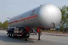 金碧13米2.2吨3轴易燃气体罐式运输半挂车(PJQ9340GRQ)