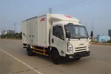 江铃汽车国四单桥厢式运输车152马力5吨以下(JX5047XXYXGB2)
