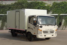 唐骏汽车国四单桥厢式运输车88-95马力5吨以下(ZB5040XXYKDD6F)
