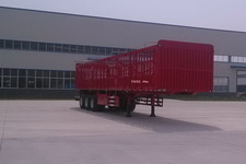 华鲁业兴12米34吨3仓栅式运输半挂车