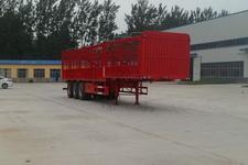 华鲁业兴12米33.7吨3仓栅式运输半挂车