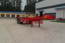 华鲁业兴15米34.5吨3集装箱运输半挂车