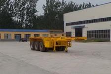 华鲁业兴8.5米35吨3集装箱运输半挂车