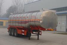 华鲁业兴11.2米30.4吨3液态食品运输半挂车