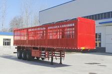 华鲁业兴12米34.5吨3仓栅式运输半挂车