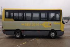 扬子江牌WG6660BEVH型纯电动城市客车图片2