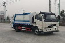 东风轻卡国五8方发式垃圾车