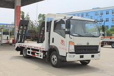 程力威牌CLW5040TPBZ5型平板运输车