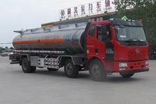 解放j6小三轴铝合金运油车 15997903157