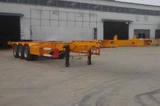 庄宇12.5米33.8吨3轴集装箱运输半挂车(ZYC9402TJZ)